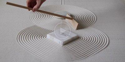 20 Soothing Minutes of Zen Garden Pattern Explorations