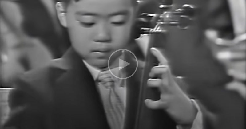 A 7 Year Old Yo-Yo Ma Performs for JFK and Eisenhower in 1962