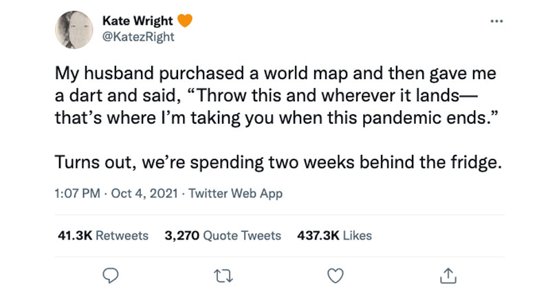 husband purchased a world map tweet The Shirk Report – Volume 651