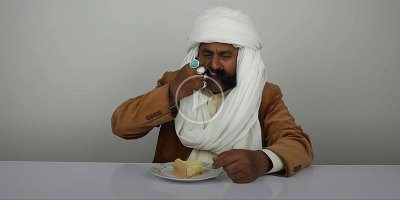 People in Pakistan Trying Cheesecake for the First Time