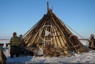 Warmest Tent on Earth: Pitching in the Siberian Arctic Winter