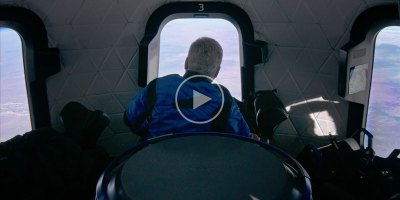 William Shatner Just Went to Space and His Reaction is Incredible